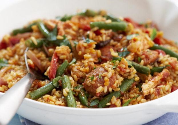 brown-rice-paella