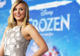 """Kristen Bell attends the world premiere of """"Frozen"""", on Tuesday, Nov. 19, 2013, in Los Angeles. (Photo by John Shearer/Invision/AP)"""